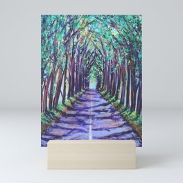 Kauai Tree Tunnel Mini Art Print
