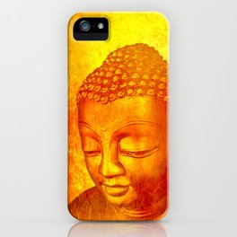 Buddha from Sri Lanka iPhone Case