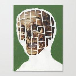 Skull-Saic Canvas Print