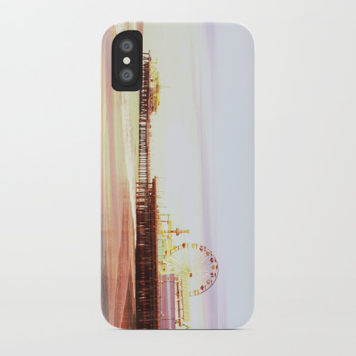 Santa Monica Pier Sunrise iPhone Case