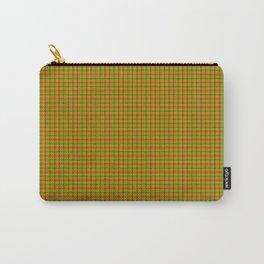 Cinnabar Grid Plaid Carry-All Pouch