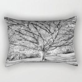 The Ghost Tree Rectangular Pillow