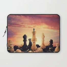 the rise of a chess player Laptop Sleeve