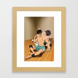He dead Framed Art Print