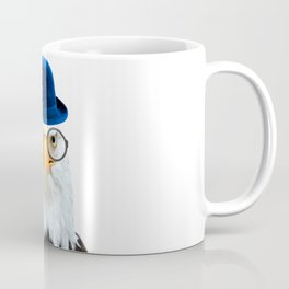Funny Eagle Portrait Coffee Mug