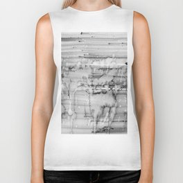 Grey city lights Biker Tank