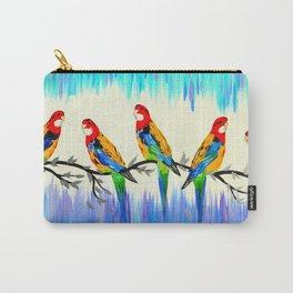 Australian Birds Carry-All Pouch