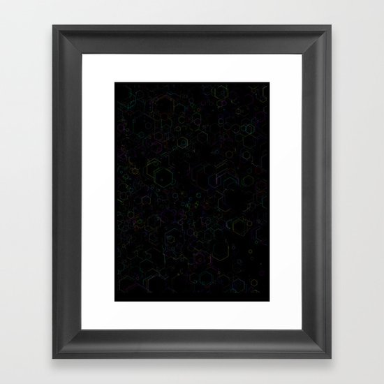 CUBEN Framed Art Print