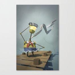 Sailor-Bot Canvas Print