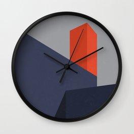 Minimal Urban Landscape Wall Clock
