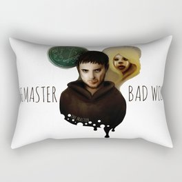 the Master & the BadWolf Rectangular Pillow