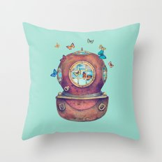 Inner Space Throw Pillow
