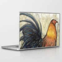 rooster Laptop & iPad Skins featuring Rooster by Villarreal