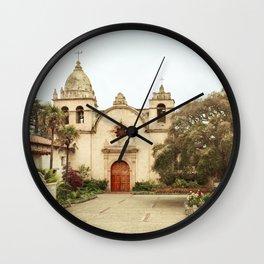 Carmel Mission Wall Clock