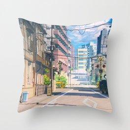 Road Original Artwork Throw Pillow