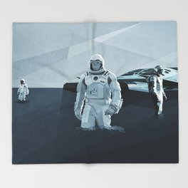 Interstellar Throw Blanket