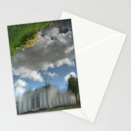 Dublin Grand Canal Reflections Stationery Cards