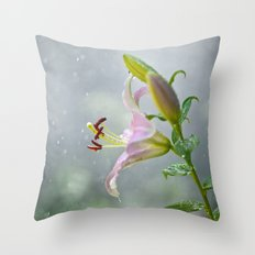 Stargazer Lily 2845 Throw Pillow