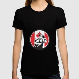 Canadian Welder Canada Flag Icon T-shirt