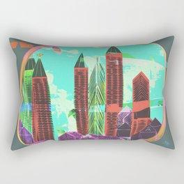 Castles Through The Emotional Windows Rectangular Pillow