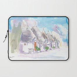 The Trulli Buildings of Alberobello Bari Italy Laptop Sleeve