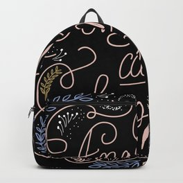 Anything can happen Backpack