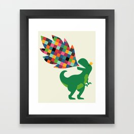 Rainbow Power Framed Art Print