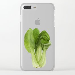 Baby Bok Choy Clear iPhone Case