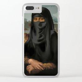 Niqab - Monnalisa Clear iPhone Case