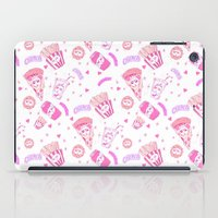 junk food iPad Cases featuring JUNK by bb0t