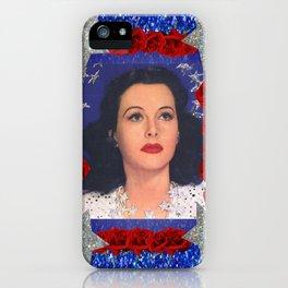 Ziegfeld Girl - Hedy Lamarr - Screen Siren  iPhone Case
