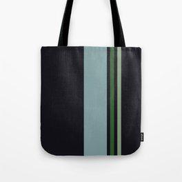 Classic Retro Striped Enenra Tote Bag