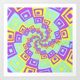 In A Twist Art Print