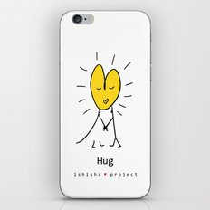 HUG by ISHISHA PROJECT iPhone & iPod Skin