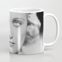 Carole Lombard classic black and white photograph Coffee Mug