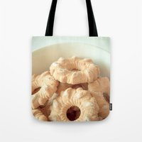 cookies Tote Bags featuring Cookies! by Basic Design