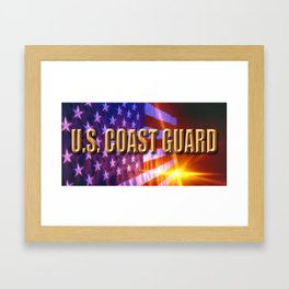 U.S. Coast Guard Framed Art Print