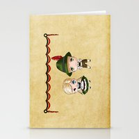 german Stationery Cards featuring German Chibis by artwaste