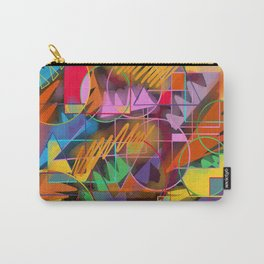 Colorful Retro Carry-All Pouch