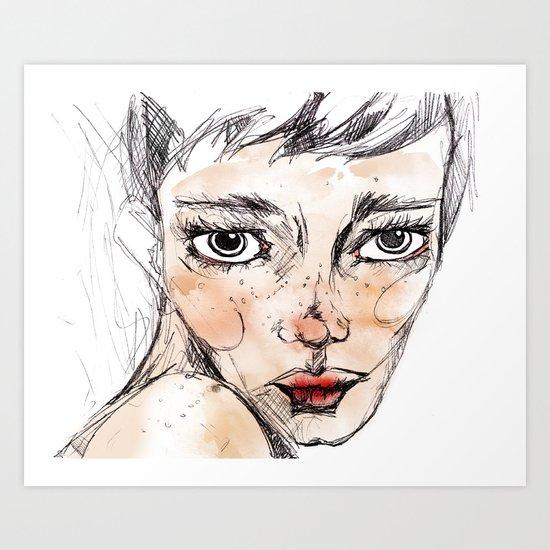 Sara Dane Art Print