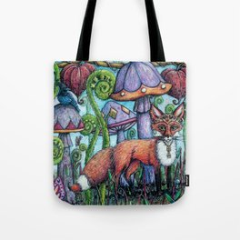 Fox Hollow Tote Bag