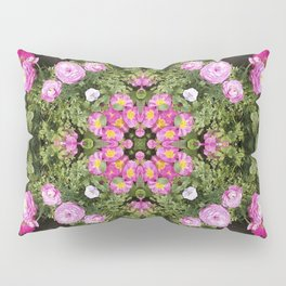 Gerbera And Ranunculus Kaleidoscope Pillow Sham