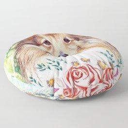 Sweet Sheltie Floor Pillow