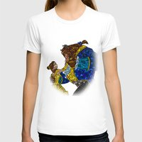 beauty and the beast T-shirts featuring Beauty and the Beast by JackEmmett