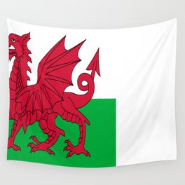 Flag of Wales Wall Tapestry