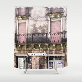 SICILIAN FACADE Shower Curtain