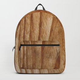 Natural Wood Texture for Wood Artworks Lovers. Backpack