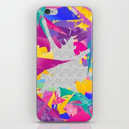 80s Abstract iPhone Skin