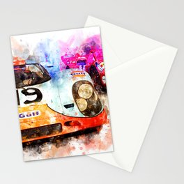 917 at Le Mans Stationery Cards