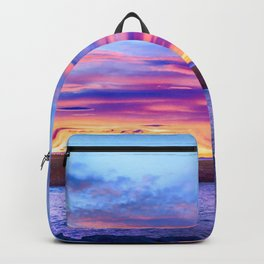 Biscay Bay sunset Backpack